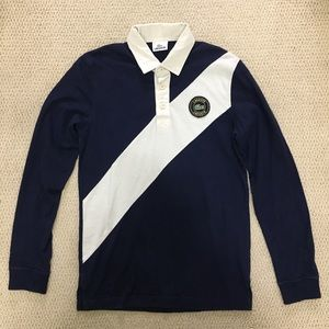 Lacoste Rugby Shirt Long Sleeve Men's XS